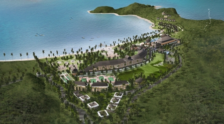 Basic Design of Architecture,  Interior and Landscape for Club Med Hotel - Mandalika Resort at Central Lombok of NTB