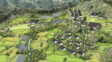 Sayembara Kampung Sindangbarang Development, Desa Pasir Eurih as Cultural and Tourism Village