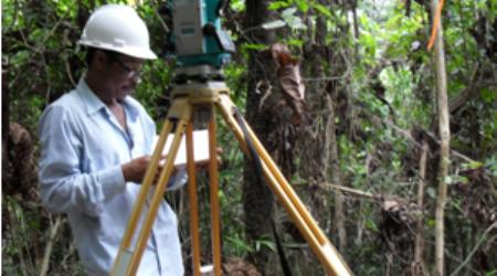 Stake-out and Leveling Survey Railway Alignment at Muara Wahau and Bengalon (40km) - East Kalimantan